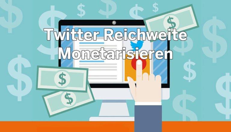 Twitter Geld verdienen