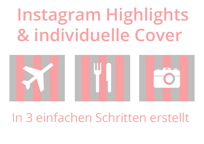 Instagram individuelle Highlight Cover