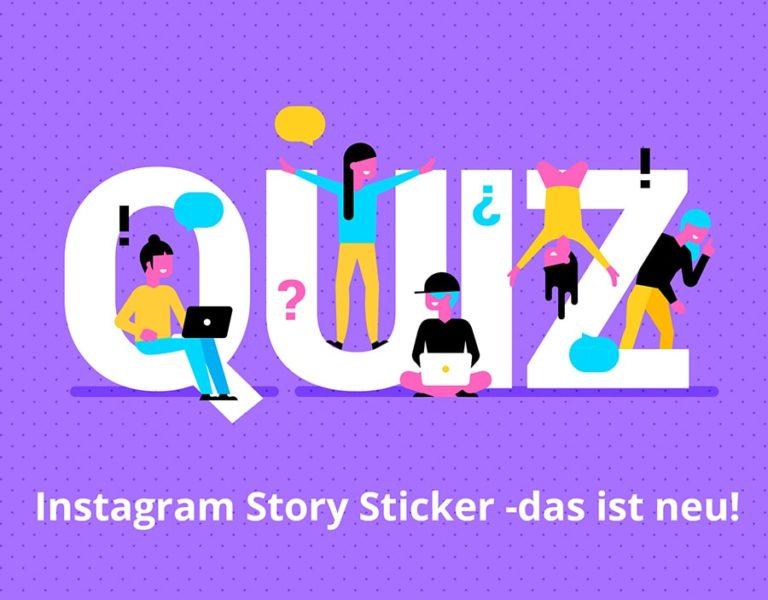 Instagram Story Sticker neuheiten